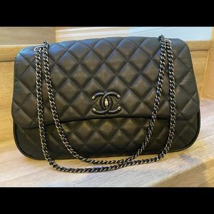 Authentic Chanel Quilted Flap Bag